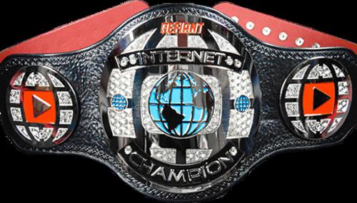 Image result for Internet championship belt defiant