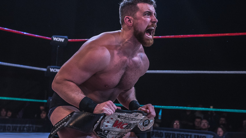 Joe Hendry Claims WCPW Championship From Martin Kirby