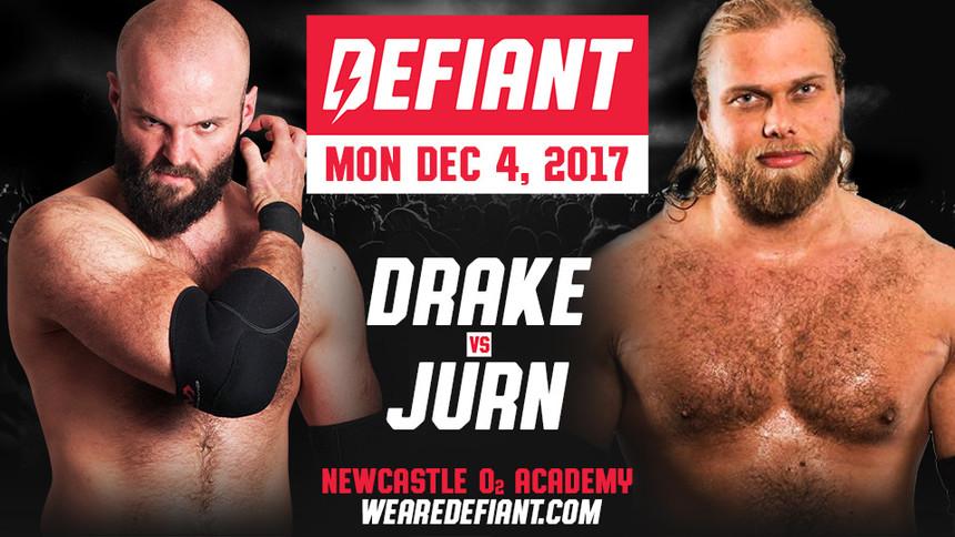 Drake vs Jurn Simmons Added To #WeAreDefiant