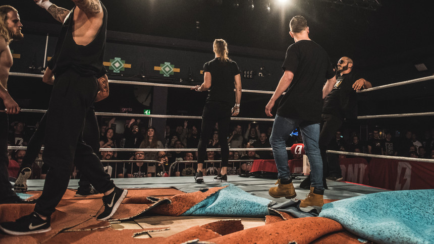 IPW Invades Defiant Wrestling In Birmingham