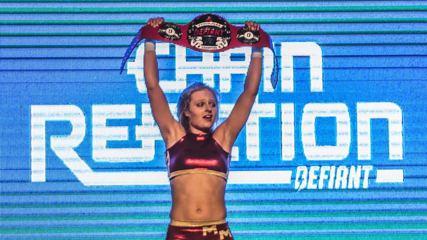 Millie McKenzie Wins Defiant Women's Title At Chain Reaction