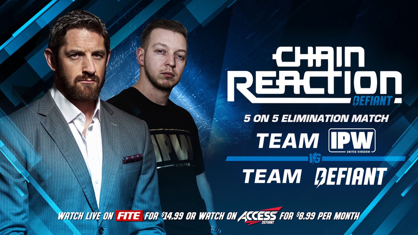 Chain Reaction '18: Full Card & How To Watch