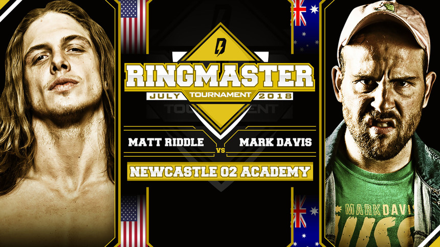 First Round Matches Unveiled For Ringmaster Tournament
