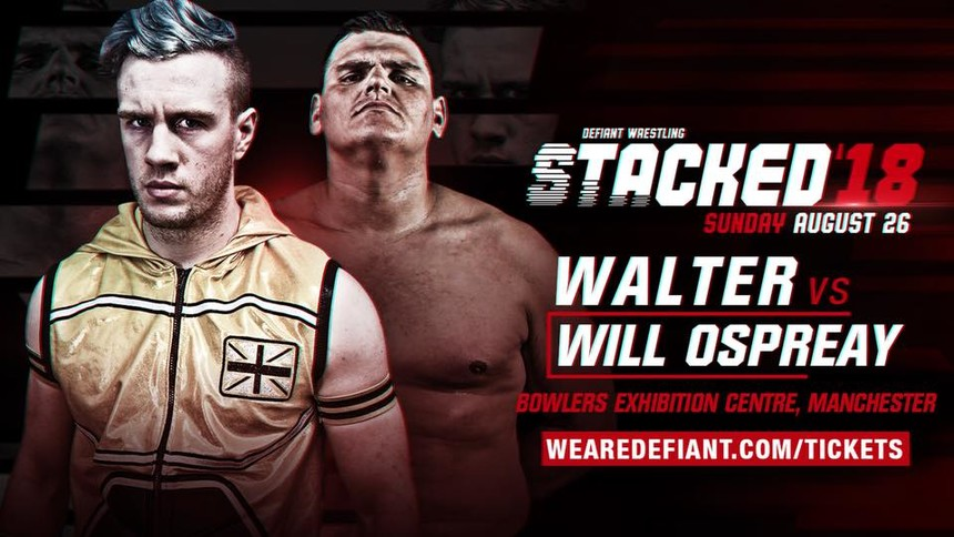 Walter vs Will Ospreay Is Coming To Manchester