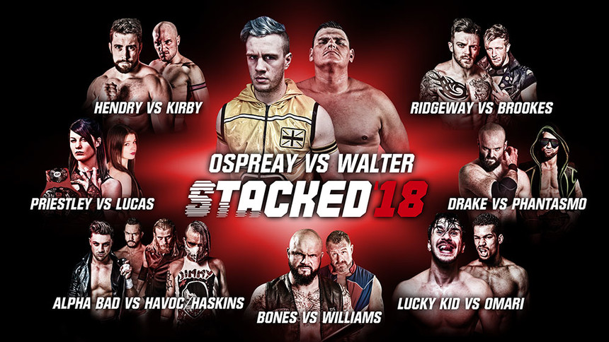 Stacked 2018: Full Card & How To Watch